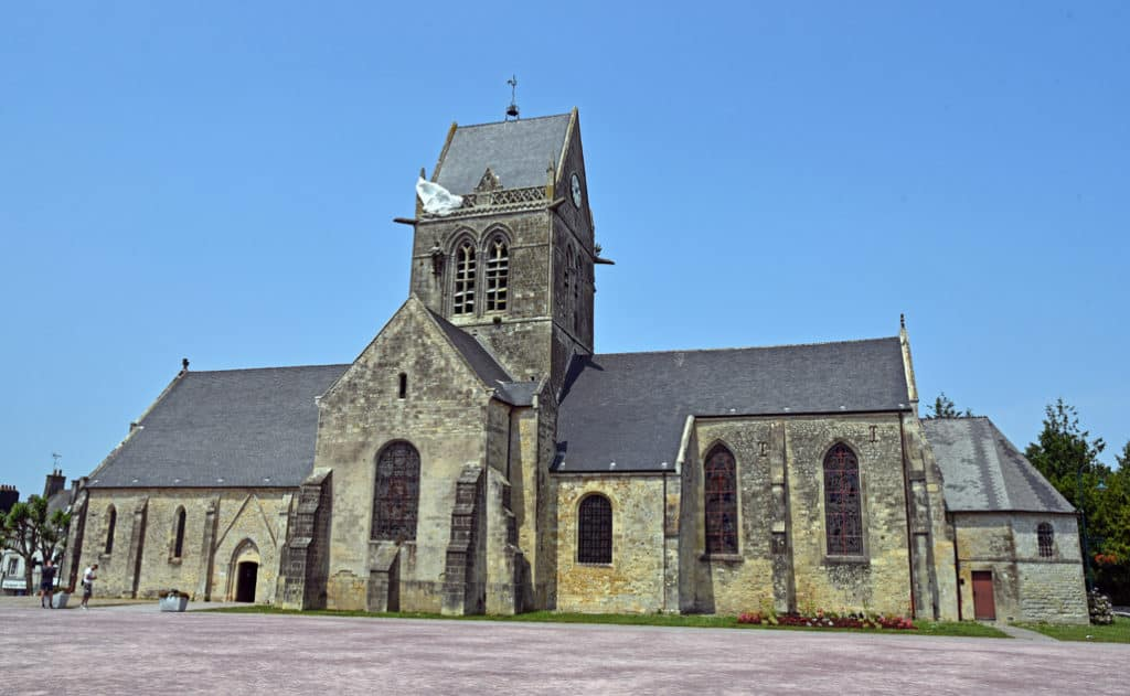 St Mere Eglise Church Normandy France