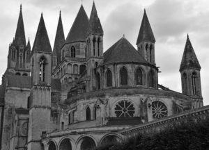 Abbey aux Hommes Caen France