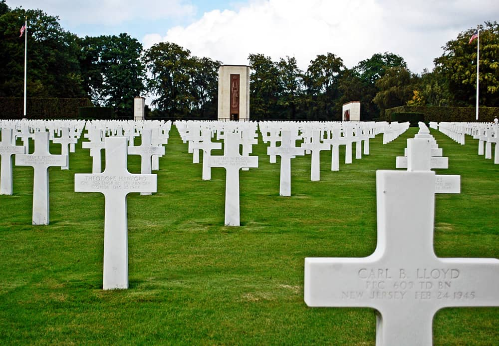 American Cemetery Luxembourg WWII