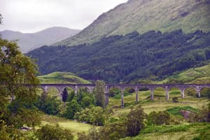 Glenfinnian Viaduct Scotland