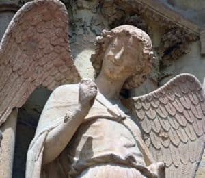 Reims Cathedral Angel