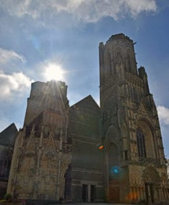 St Lo Cathedral normandy france tours