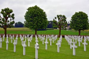 WWI American Cemetery in France