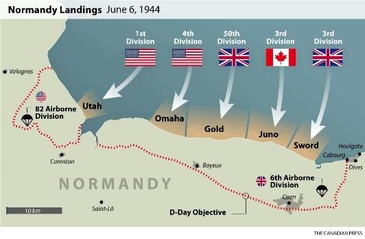 D-Day tour
