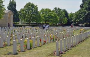 Ranville British Cemetery Normandy