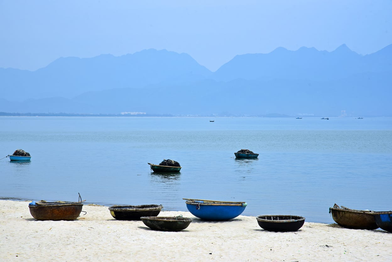 Da Nang Vietnam Fishing Boats