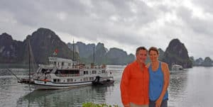 Brian DeToy Sheryl Shafer Halong Bay Vietnam
