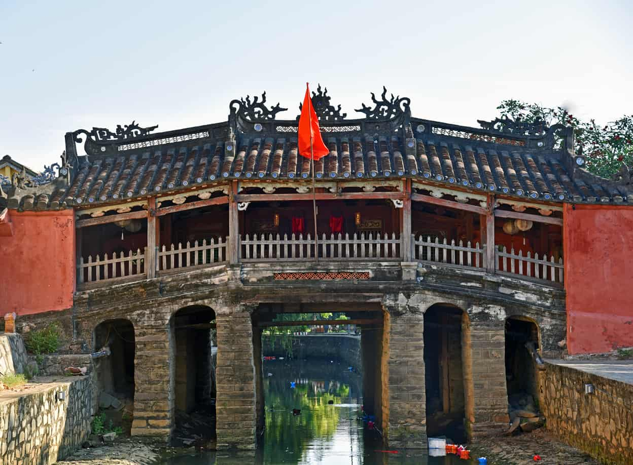 Hoi An Vietnam Chinese Bridge