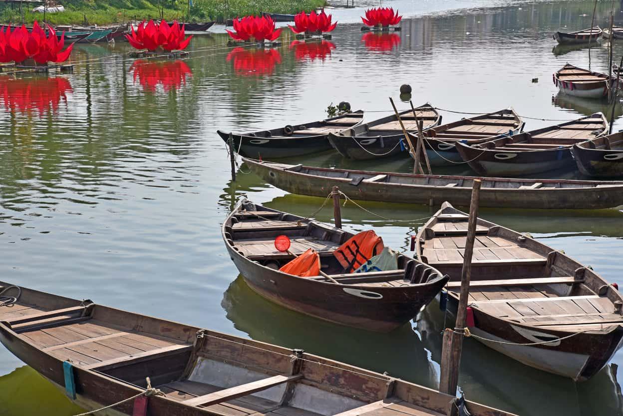 Hoi An Vietnam Boats