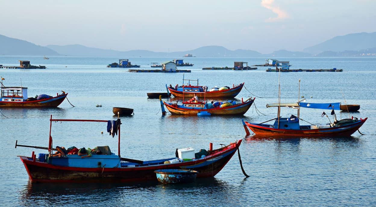 Nha Trang Vietnam Fishing Boats Tour