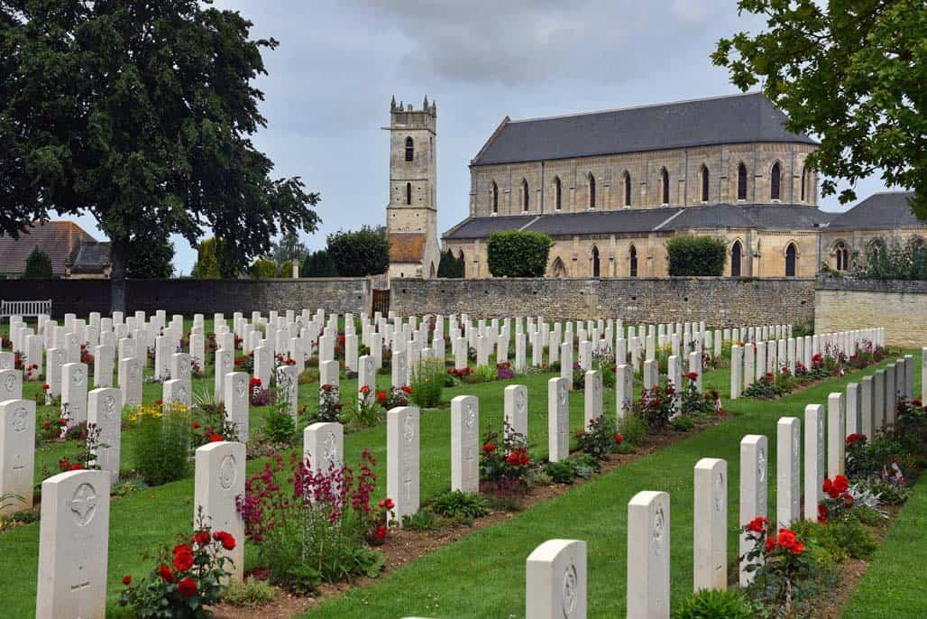 Ranville British Cemetery WWII