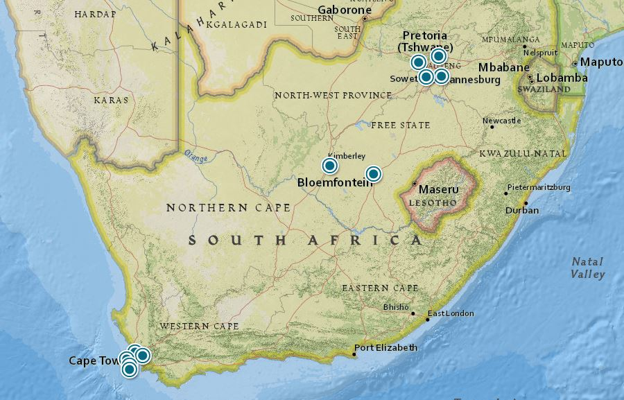 South Africa history tours