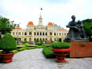 Saigon City Hall Vietnam