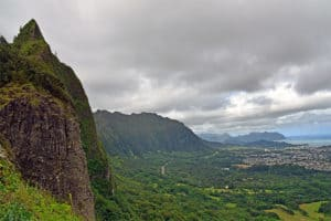Pali Cliffs Oahu Hawaii