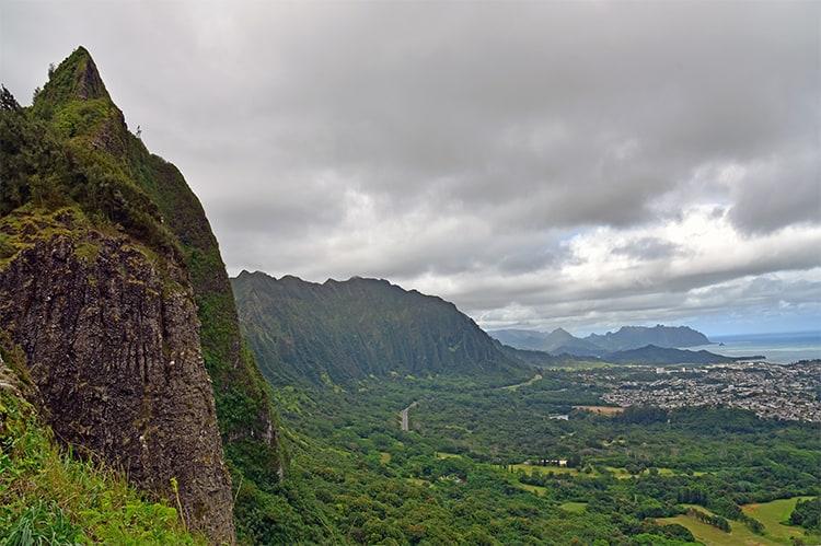 Pali Cliffs Oahu Hawaii