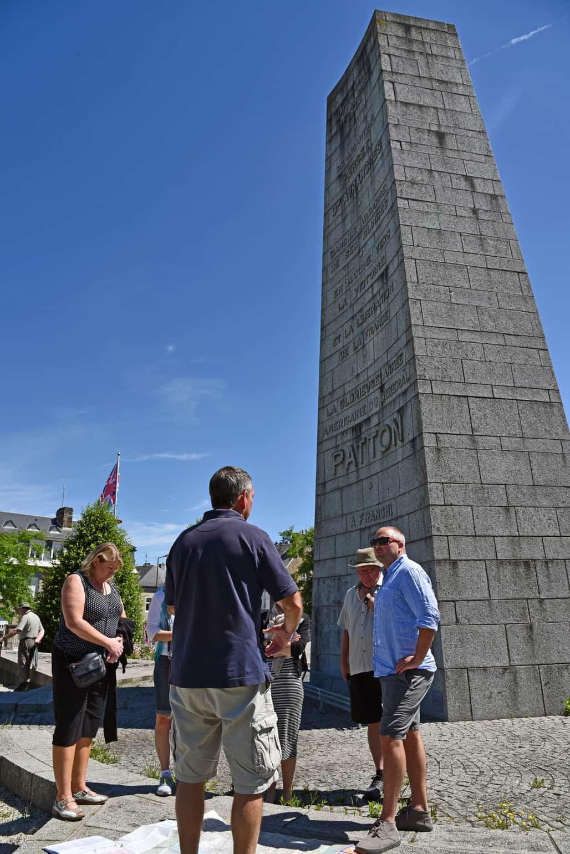 Avranches Patton Monument