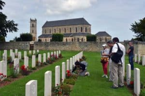 Ranville British Cemetery D-Day Tour