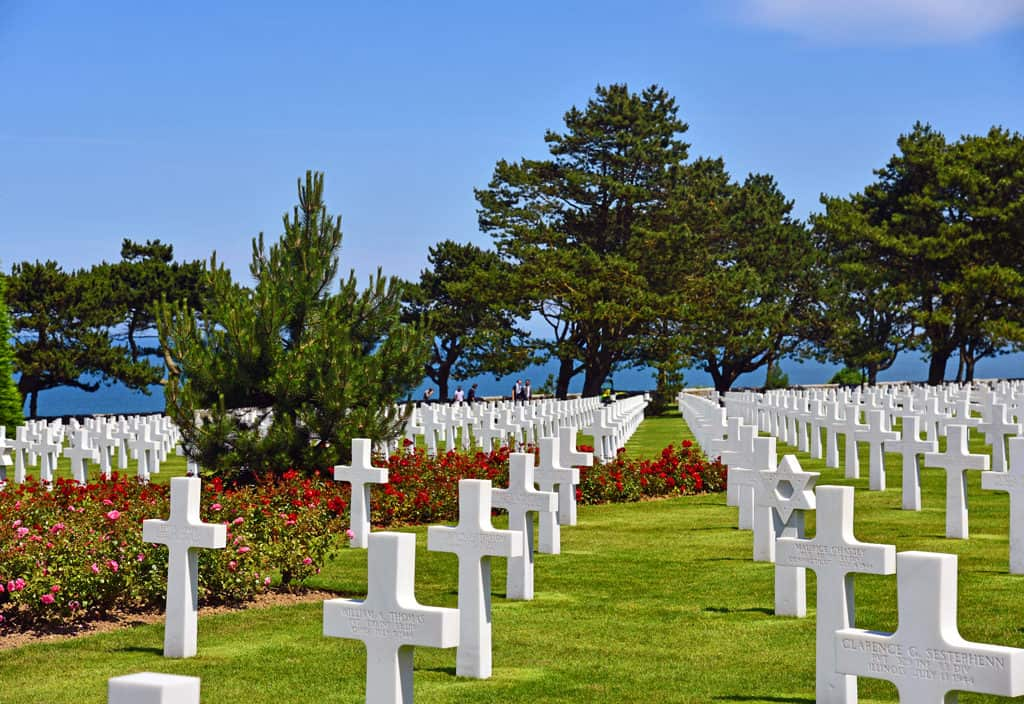 American Cemetery Normandy d day tour