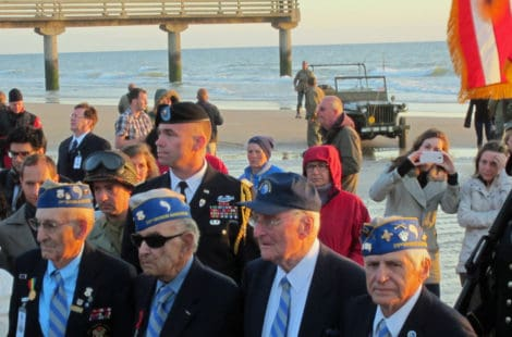 WWII Veterans at Normandy