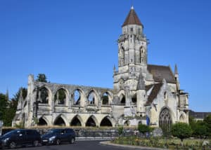 Caen France Church