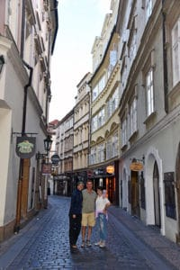 Early Morning Walk in Prague