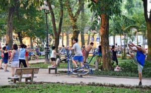 vietnam park fitness