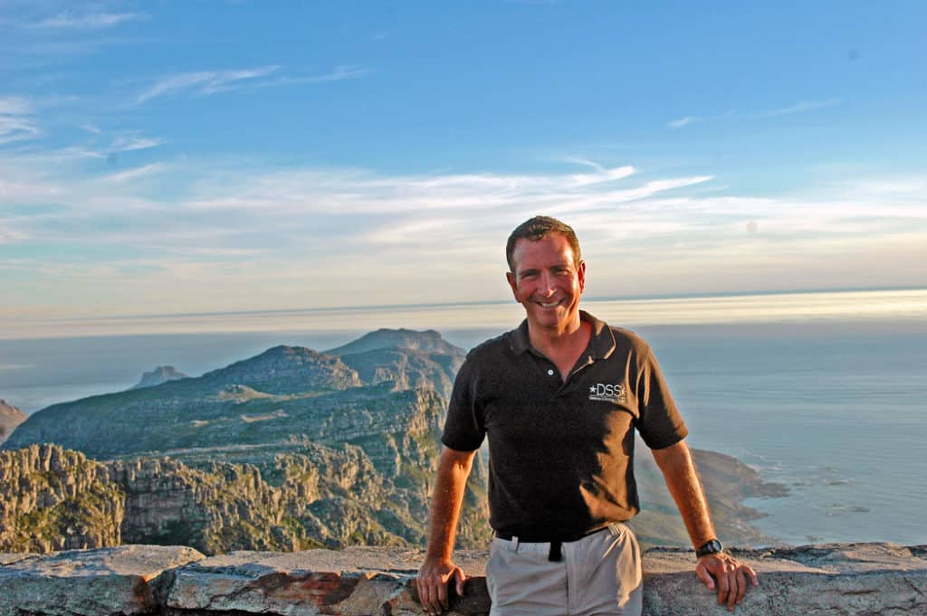 Brian DeToy Table Mountain South Africa Tours