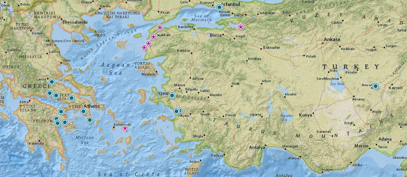 Greece and Turkey history tours
