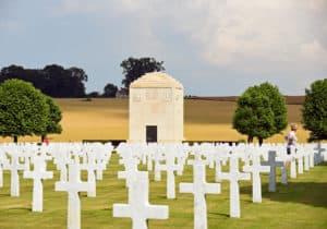 WWI Bony American Cemetery EHE