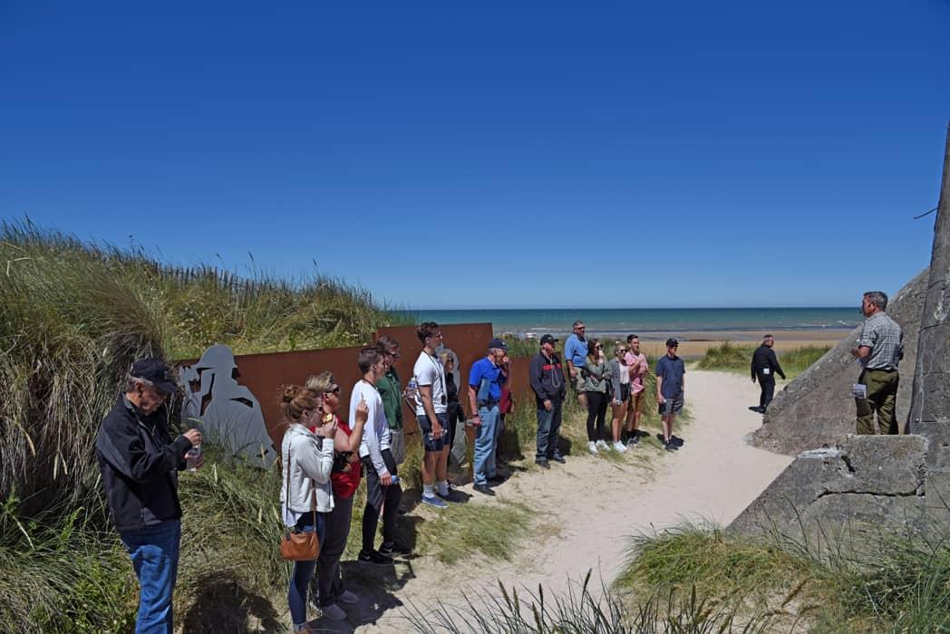 Juno Beach Normandy tour